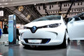 Concept car, Renault ZOE. Stock Images
