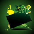 Concept d'Eco Photo libre de droits