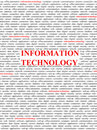 Concept de technologie informatique  Image stock
