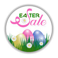 Concept Easter sale. Vector