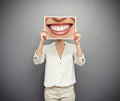 Concept of good mood Royalty Free Stock Photo