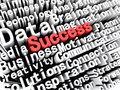 Concept graphic depicting business and success written in red Royalty Free Stock Photo