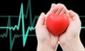 Concept of heart care Stock Images