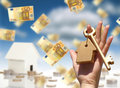 Concept of home ownership Royalty Free Stock Photo