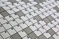 An concept Image of a crossword puzzle Royalty Free Stock Photo