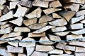 An Image of firewood, energy, biomass Royalty Free Stock Photo