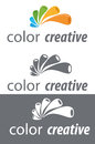 Concept Logo Stock Photography