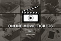 Concept of online movie tickets