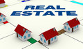 Concept of real estate Stock Images