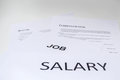 Concept of salary is necessary for resume