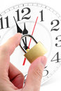 Concept of time control Stock Photography