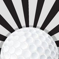 Conception d ic ne de boule de golf Photo libre de droits