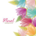 Conception florale Image stock