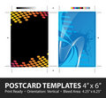 Conceptions de descripteur de carte postale Photo stock