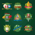 Conceptual Billiards Icon Set
