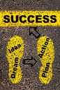Conceptual image of Success Royalty Free Stock Photo
