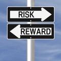 Risk and Reward Royalty Free Stock Photo