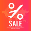 Conceptual poster sales and discounts of airplane tickets.