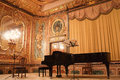Concert grand piano in the Polovtsov mansion Royalty Free Stock Photo