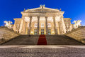 Concert hall berlin at Gendarmenmarkt at night Royalty Free Stock Photo
