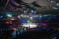 Concert hall moscow march russia before the fights on the tournament promotion fight nights battle revenge on september moscow Stock Image