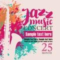 Concert of jazz music festival