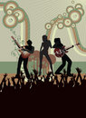 Concert poster Royalty Free Stock Images
