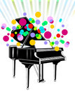 Concerto do piano grande Imagem de Stock Royalty Free