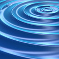 Concetric Ripples Stock Photography
