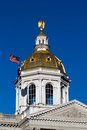 Concord new hamshire capitol dome the state house capital of hampshire is located in the city of nh usa Stock Photo