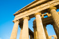 Concord temple of in agrigento valle dei templi sicily italy Royalty Free Stock Photos