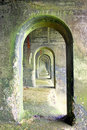 Concrete arches Royalty Free Stock Photography