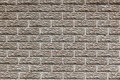 Concrete Brick Design Fence Stock Photography