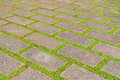 Concrete brick floor pattern texture for background Royalty Free Stock Photo