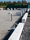 Concrete construction blocks Stock Photos