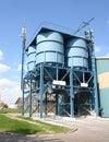 Concrete Factory Stock Photo