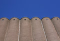 Concrete grain storage Royalty Free Stock Photo