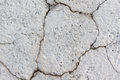 Concrete grey wall with cracks Royalty Free Stock Photo