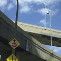 Concrete Highway Viaducts Royalty Free Stock Photos