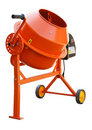 Concrete Mixer Royalty Free Stock Photo