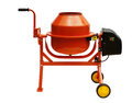 Concrete mixer isolated on a white background Royalty Free Stock Image