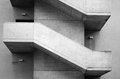Concrete stairs Royalty Free Stock Photo