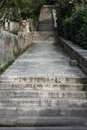 Concrete stairs going up or down Royalty Free Stock Photo