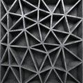 Concrete Textured Poligon Patt...