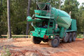 Concrete truck Royalty Free Stock Images