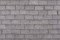 Concrete wall and gray bricks