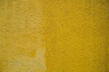 Concrete wall light yellow background for designer Royalty Free Stock Photo