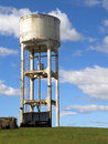 Concrete Water Tower Royalty Free Stock Photo
