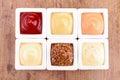 Condiment, sauce Royalty Free Stock Photo