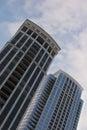 Condo Buildings Royalty Free Stock Photo
